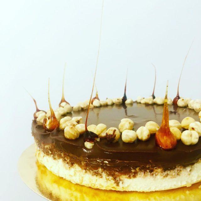 sernik z czekoladow trufl dzisiaj wjecha na salony czekoladowatrufla cheesecakehellip