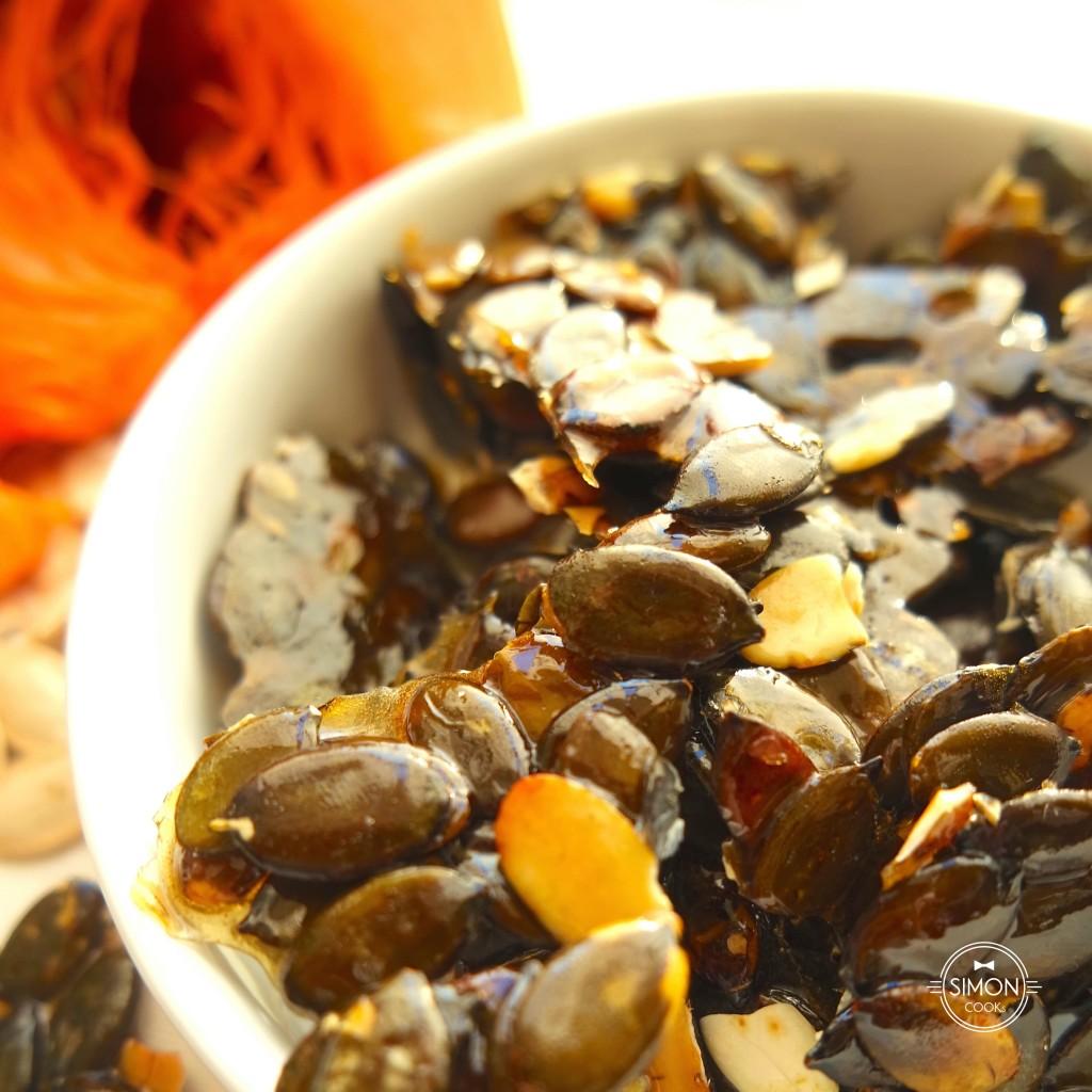 karmelizowane pestki dyni simon cooks