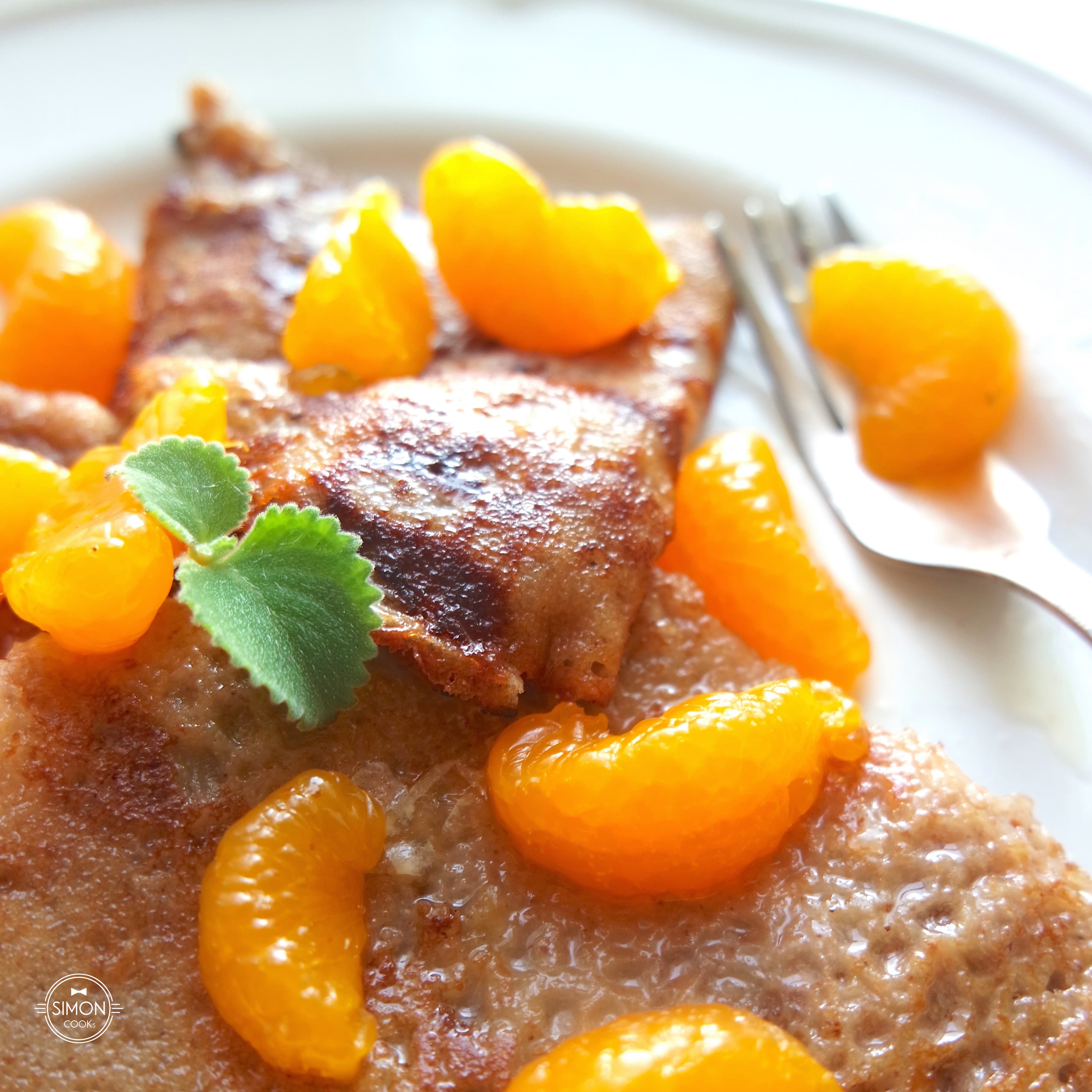 naleśniki gryczane z mandarynką crepez suzette Simon COOKs