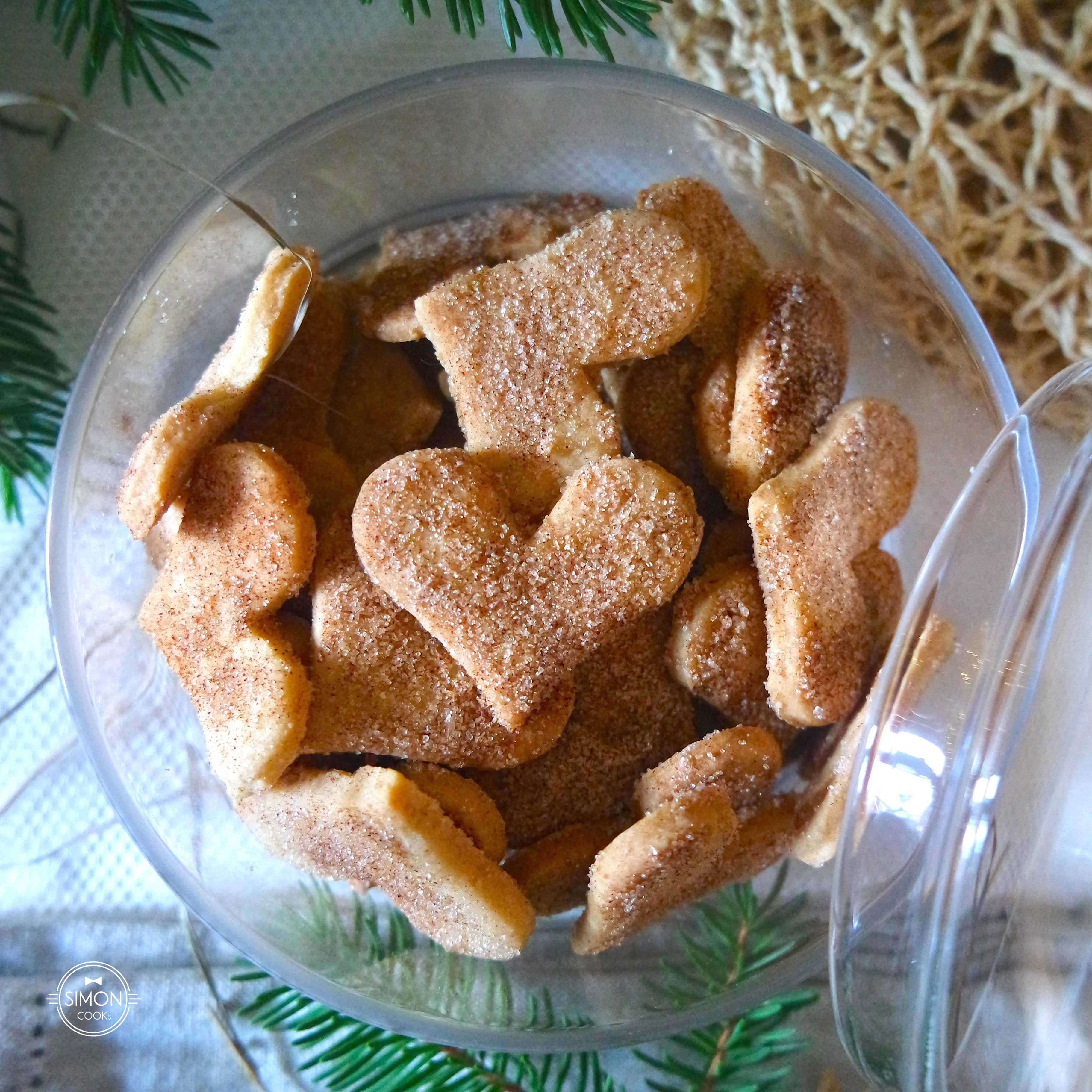 ciasteczka migdałowe święta simon cooks cynamon migdały