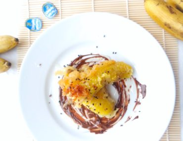 banany w tempurze deser simon cooks szymon czupkiewicz
