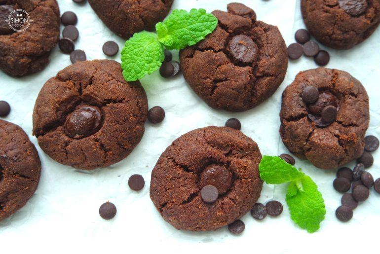 ciasteczka czekoladowe simon cooks czekolada kruche szybkie ciastka