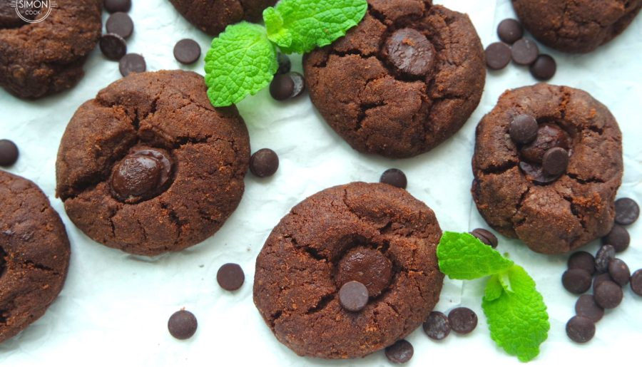 Najlepsze kruche czekoladowe ciasteczka