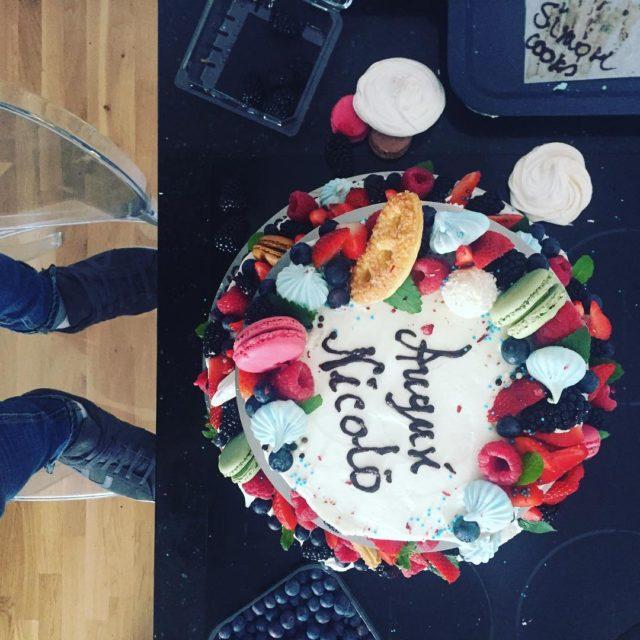Auguri Nicol  cake tortynaturalne tortynaturalnesimoncooks simoncooks instagood instastyle lifestylehellip