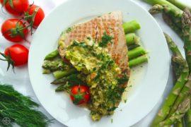 stek z tunczyka z sosem porowym ryba z sosem simon cooks philipiak milano