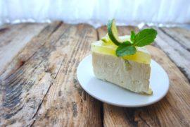 sernik dietetyczny mojito limonkowo - cytrynowy simon cooks
