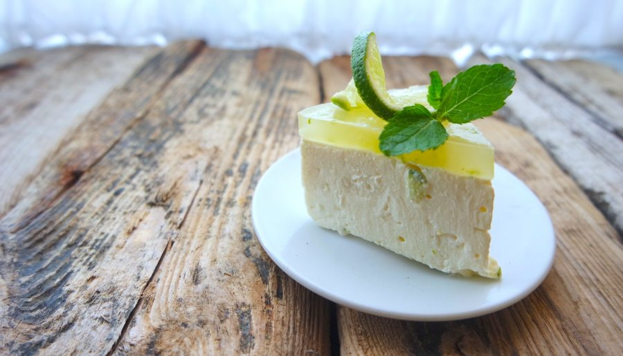 Dietetyczny sernik Mojito czyli limonkowo – cytrynowy – bez cukru