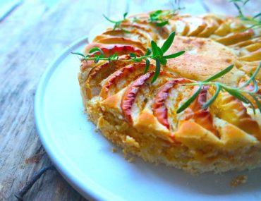 ciasto placek cytrynowy cytryną imbirem jabłkami simon cooks